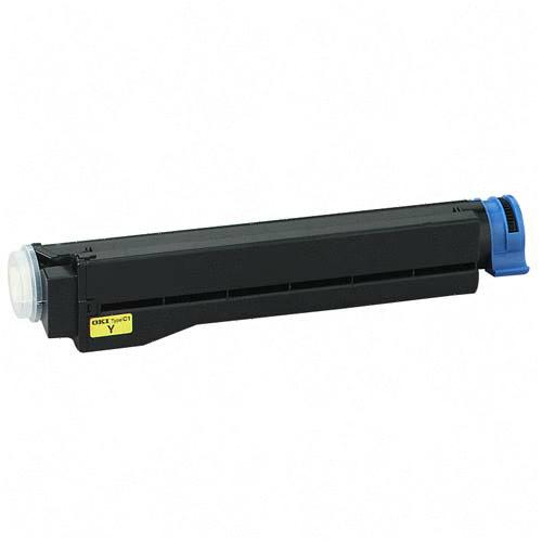 Toner Cartridge for Okipage 8C/Okicolor 8, Yellow