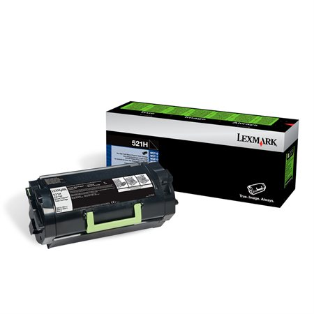 Lexmark #521H Genuine Toner MS710/711/810/811/812 Hi-Yield (25K Pages)