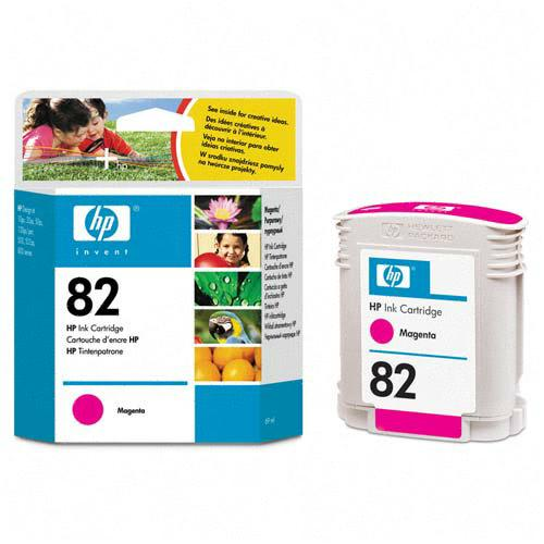 HP Genuine #82 Ink Cartridge Magenta